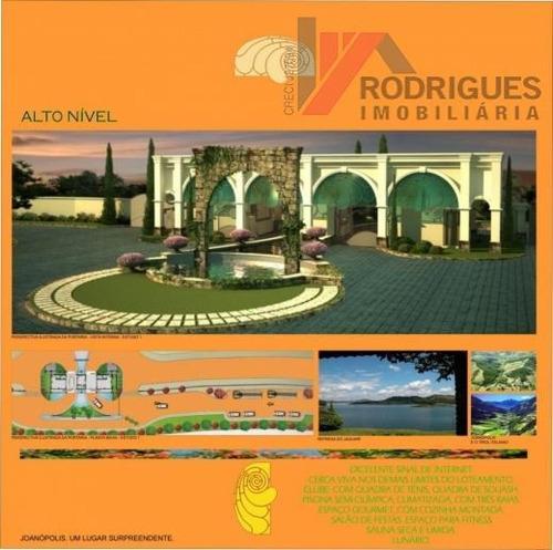 terreno residencial à venda, dos pintos, joanópolis - te0210. - te0210