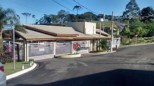 terreno  residencial à venda em condominio com segurança 24 horas,em atibaia - te0337