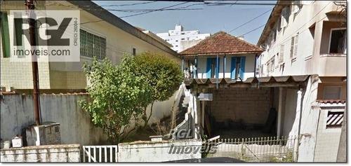 terreno  residencial à venda, estuário, santos. - te0019