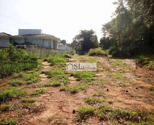 terreno residencial à venda, gramado, campinas. - te0057