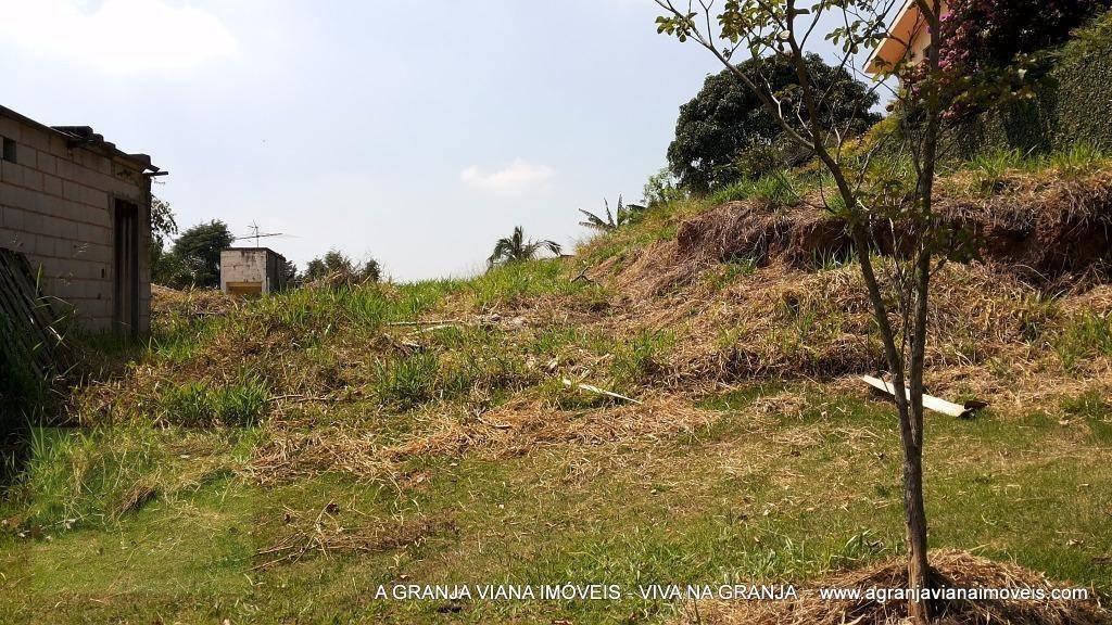 terreno residencial à venda, granja viana, cotia. - te0237