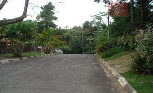 terreno residencial à venda, granja viana ii gleba 1 e 2, cotia - te0134. - te0134