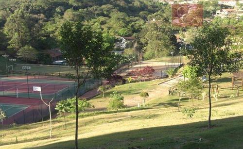 terreno residencial à venda, granja viana ii gleba 4 e 5, cotia - te0160. - te0160