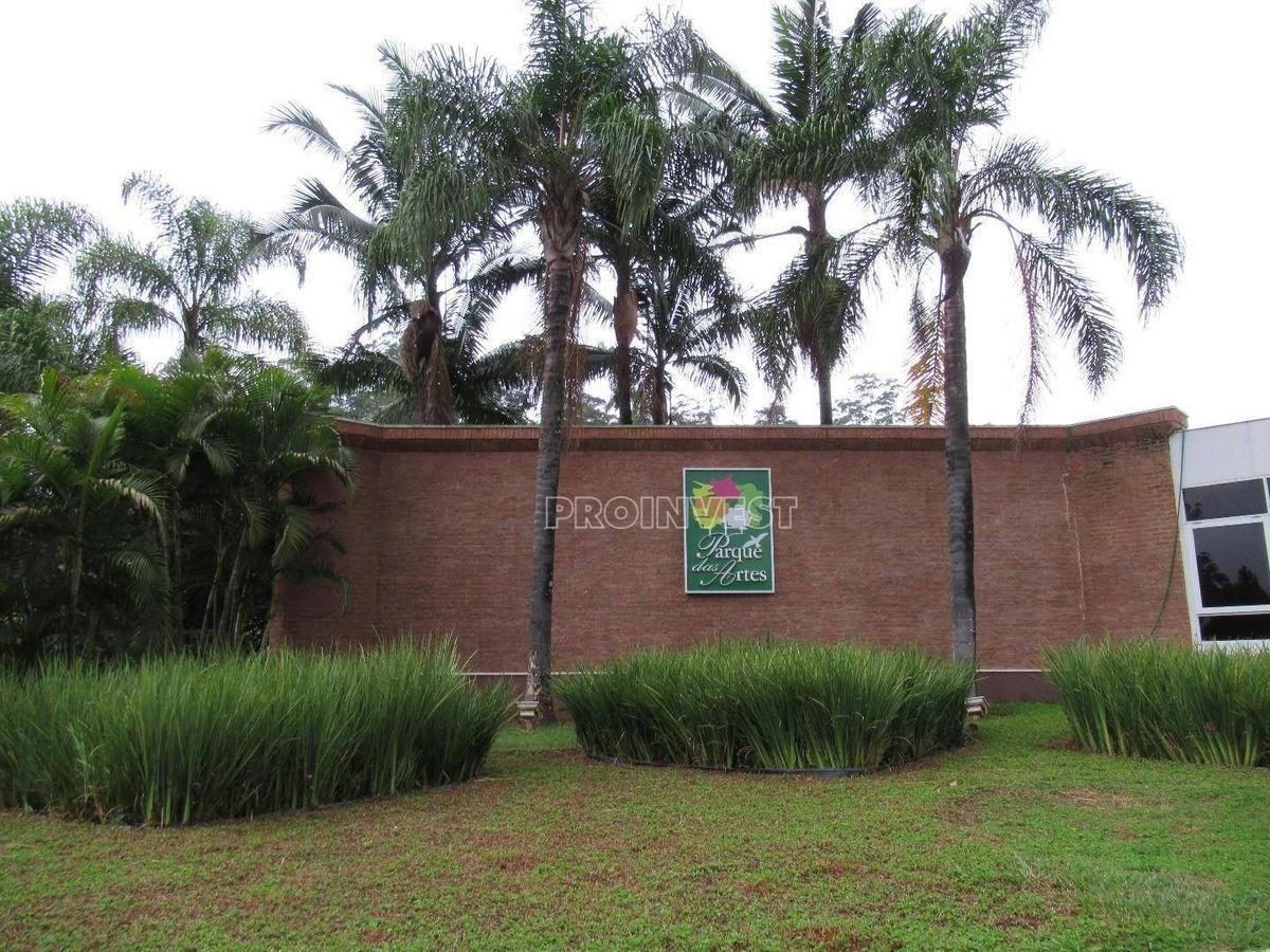 terreno residencial à venda, granja viana, parque das artes, embu das artes. - te8007