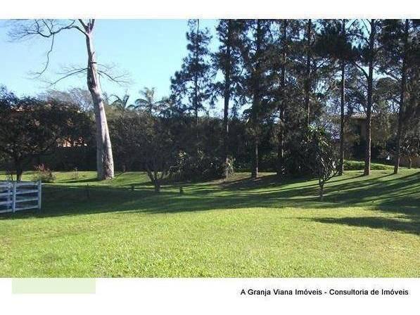 terreno residencial à venda, haras guancan, cotia. - te0286