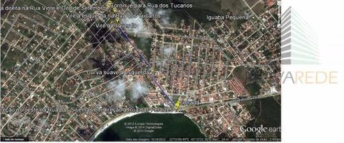 terreno residencial à venda, iguabinha, araruama - te0153. - te0153