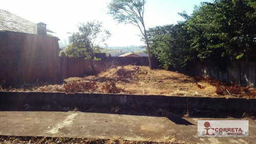 terreno residencial à venda, jardim acapulco, marília. - te0027