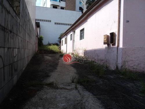 terreno residencial à venda, jardim anália franco, são paulo - te0891. - te0891