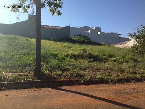 terreno residencial à venda, jardim campos prado, jaú. - te0145