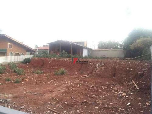 terreno residencial à venda, jardim do lago, atibaia. - te0525
