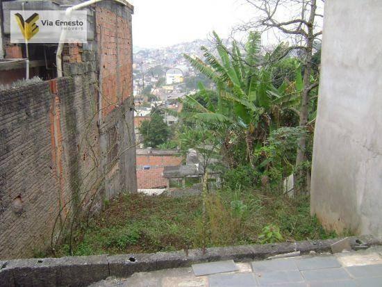 terreno residencial à venda, jardim dom josé, são paulo. - te0006