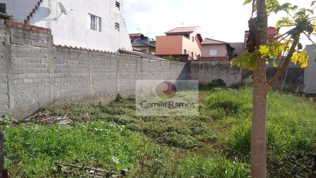 terreno residencial à venda, jardim dos ipês, suzano. - te0026