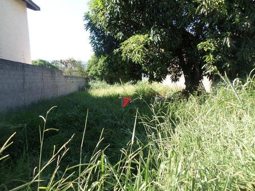 terreno residencial à venda, jardim dos pinheiros, atibaia. - te0501