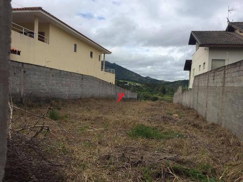 terreno residencial à venda, jardim dos pinheiros, atibaia. - te0667