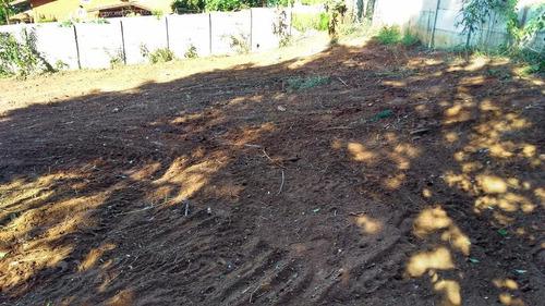 terreno residencial à venda, jardim estância brasil, atibaia. - te0085