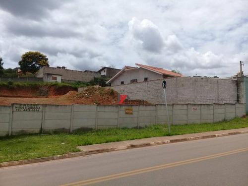 terreno residencial à venda, jardim estância brasil, atibaia. - te0596