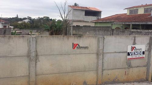 terreno residencial à venda, jardim jaraguá, atibaia. - te0384
