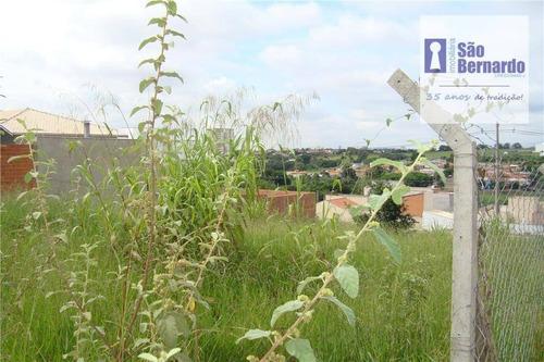 terreno residencial à venda, jardim maria helena, nova odessa. - te0097