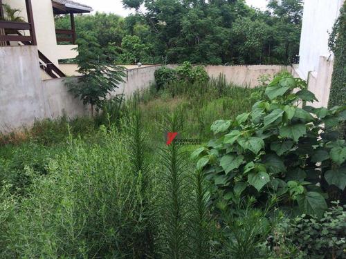 terreno residencial à venda, jardim paulista, atibaia. - te0607