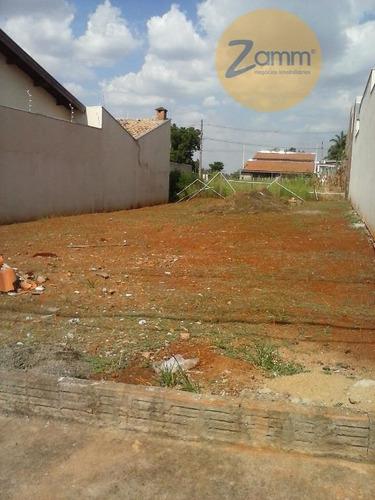 terreno  residencial à venda, jardim residencial veccon, sumaré. - codigo: te0585 - te0585