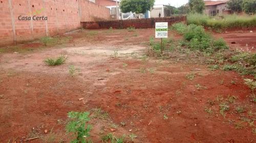 terreno residencial à venda, jardim santa cruz, mogi guaçu. - te0125
