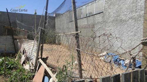 terreno residencial à venda, jardim santa cruz, mogi guaçu. - te0159