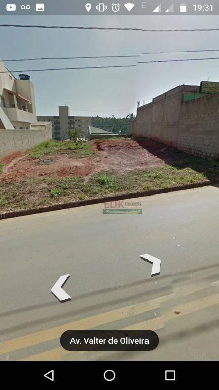terreno residencial à venda, jardim santa júlia, são josé dos campos. - te0538
