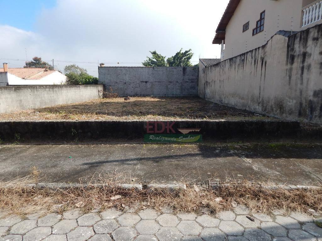 terreno residencial à venda, jardim santa maria, jacareí. - te0726