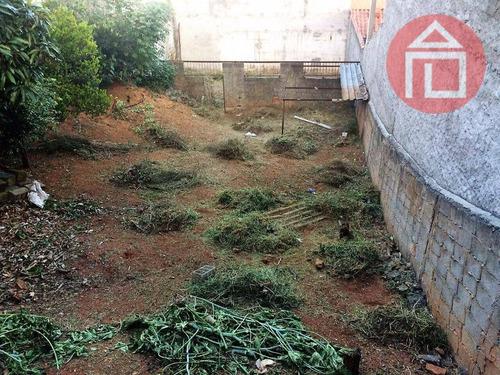terreno residencial à venda, jardim são cristóvão, bragança paulista. - te0663
