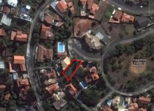 terreno  residencial à venda, jardim sorirama (sousas), campinas. - codigo: te0459 - te0459