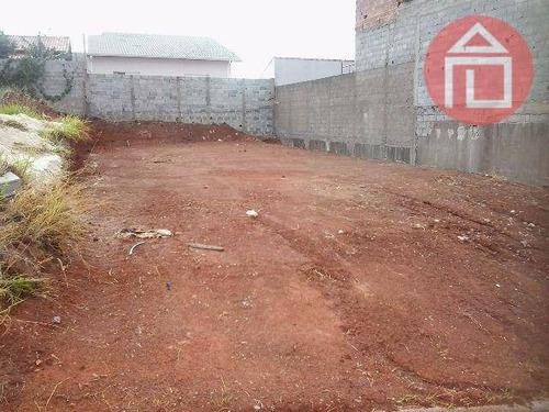 terreno residencial à venda, jardim vista alegre, bragança paulista. - te0332