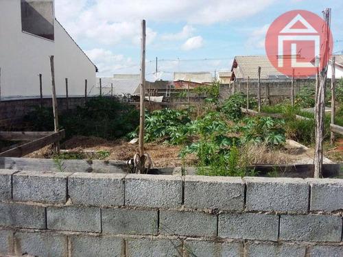 terreno residencial à venda, jardim vista alegre, bragança paulista. - te0526