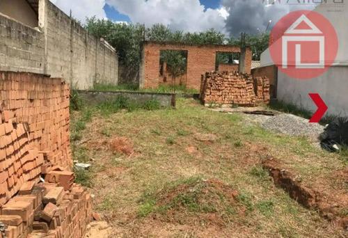 terreno residencial à venda, jardim vista alegre, bragança paulista. - te0812