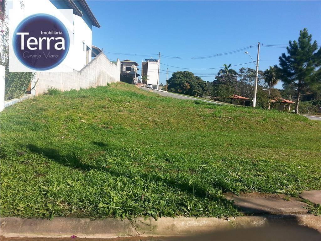 terreno  residencial à venda, los angeles, granja viana. - te0236