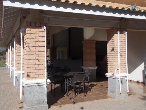 terreno  residencial à venda, loteamento fechado figueira garden, atibaia. - te0179