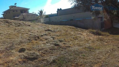 terreno residencial à venda, loteamento fechado figueira garden, atibaia - te1069. - te1069