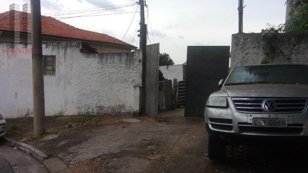 terreno residencial à venda, mooca, são paulo. - te0104