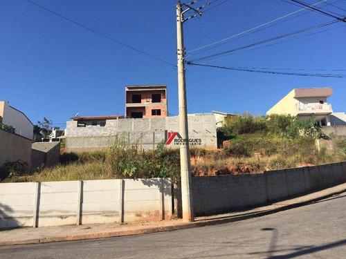 terreno residencial à venda, nova cerejeiras, atibaia. - te0579