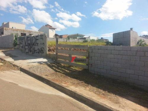 terreno residencial à venda, nova cerejeiras, atibaia. - te0588