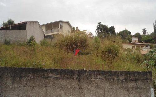 terreno residencial à venda, nova gardênia, atibaia. - te0386