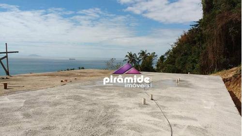 terreno residencial à venda, pacuíba, ilhabela - te0761. - te0761