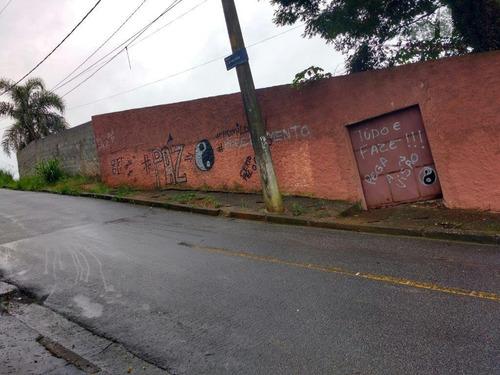 terreno  residencial à venda, panorama (polvilho), cajamar. - te0001