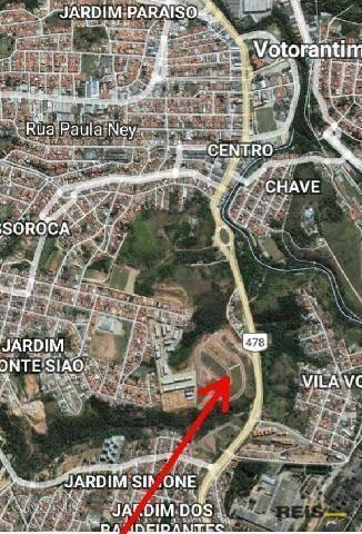 terreno residencial à venda, parque campolim, sorocaba - . - te0900