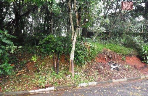 terreno  residencial à venda, parque dom henrique ii, cotia. - te0964
