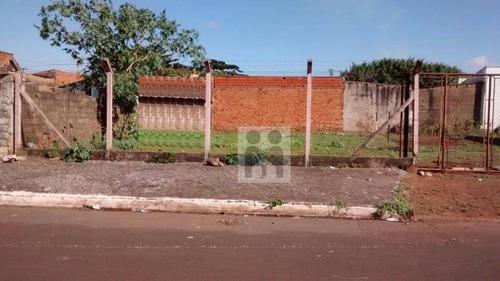 terreno residencial à venda, parque industrial avelino alves palma, ribeirão preto. - te0029