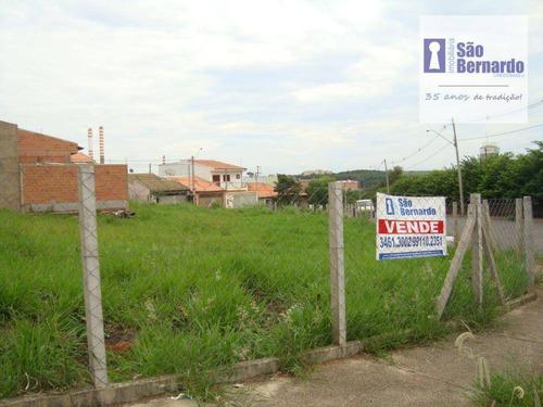 terreno residencial à venda, parque nova carioba, americana. - te0055