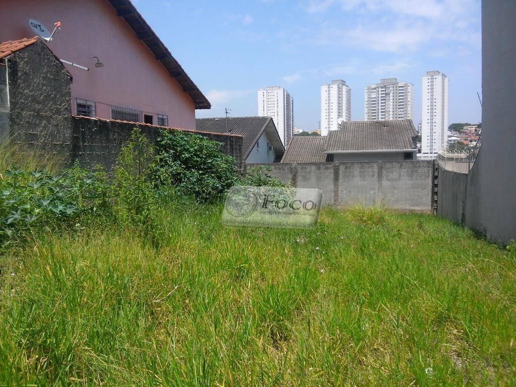 terreno residencial à venda, parque renato maia, guarulhos - te0087. - te0087