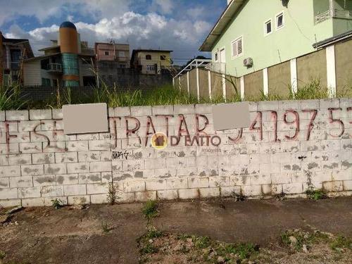 terreno residencial à venda, parque renato maia, guarulhos. - te0097