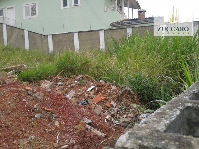 terreno residencial à venda, parque renato maia, guarulhos. - te0639