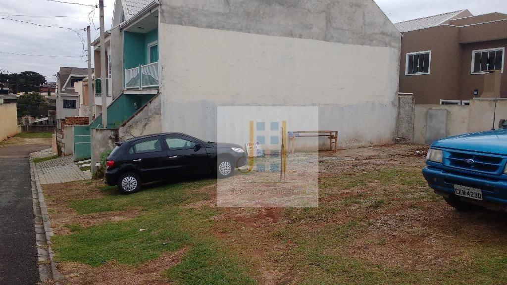 terreno residencial à venda, pinheirinho, curitiba. - te0039